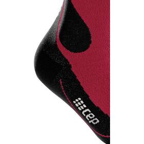 cep Dynamic+ Outdoor Calcetines Corte Medio Merino Hombre, dark red/black